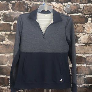 Adidas long sleeve pullover sweatshirt pockets M